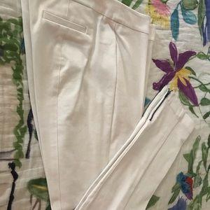 White Slacks by Eileen Fisher